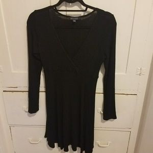 Soft &sexy American eagle long sleeve black dress